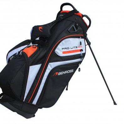 03-benross-pro-lite-2.0-stand-bag-black-white-orange-1-scaled